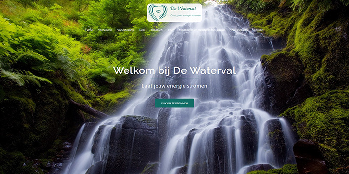 De Waterval website